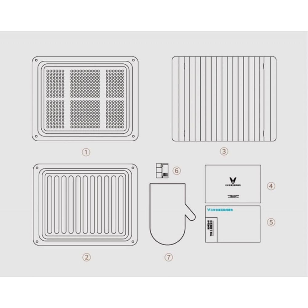 Конвекционная печь с трехмерным нагревом Xiaomi Viomi Steaming Machine (VSO2802)