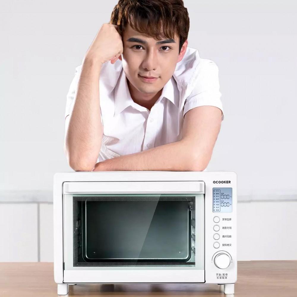 Конвекционная печь Xiaomi QCOOKER Household Multifunctional Electric Oven White (CR-KX01)
