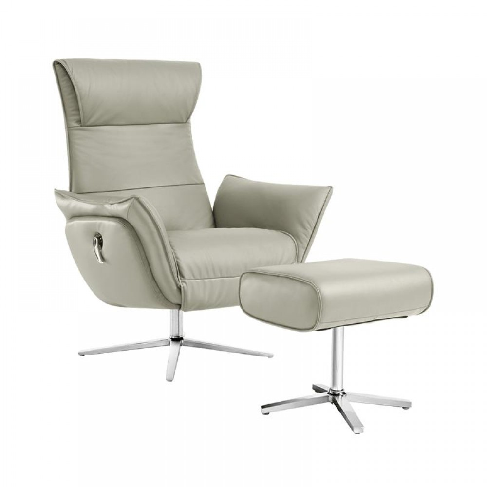 Кресло-реклайнер из натуральной кожи механическое Xiaomi UE Yoyo Real Leather Leisure Chair