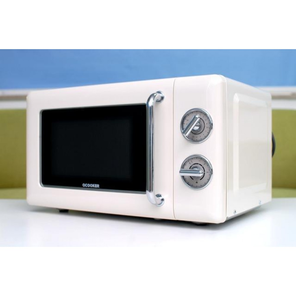 Микроволновка Qcooker CR-WB01B Retro Microwave 20L