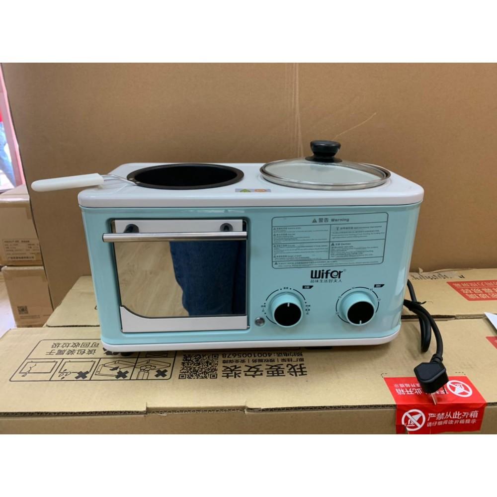 Многофункциональная машина для завтрака 4 в 1 Wifer BLY-ZA02