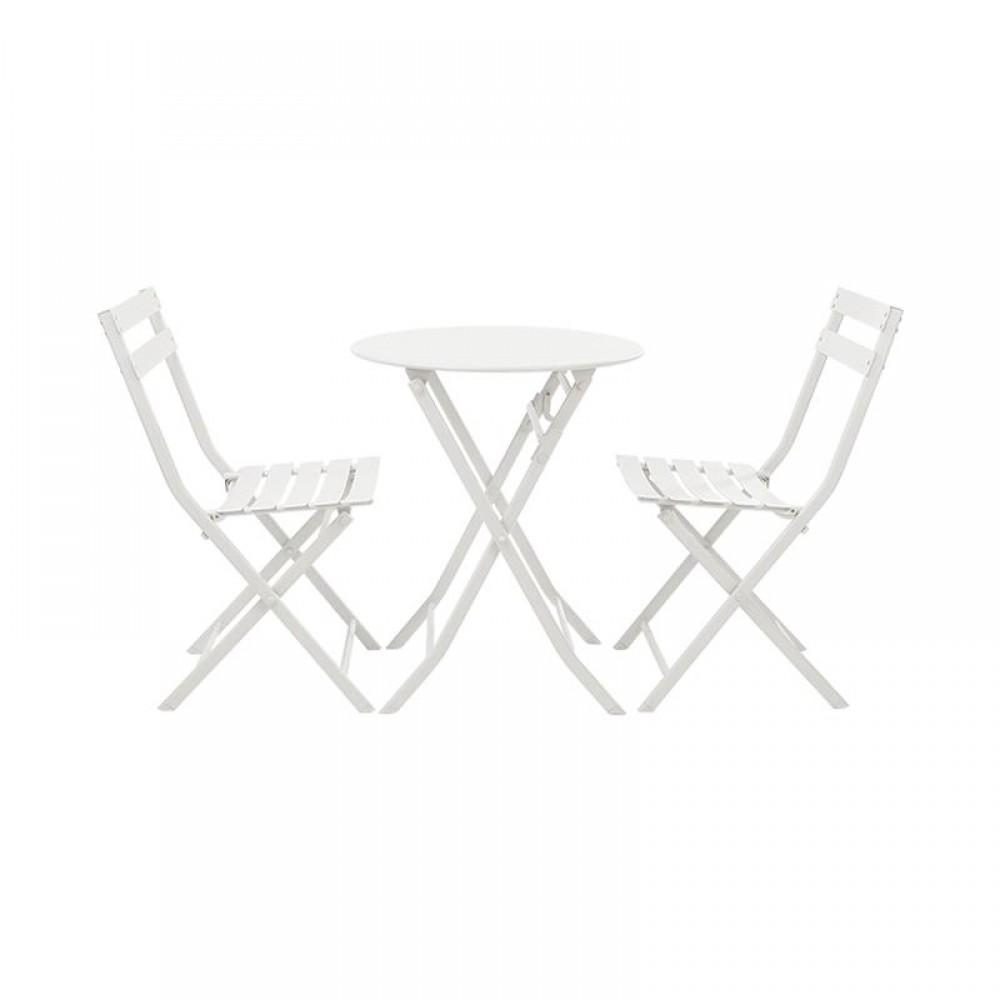 Набор обеденной мебели Складной круглый стол и 2 стула Xiaomi MWH Colorful Folding Square Table And 2 Folding Chair Set