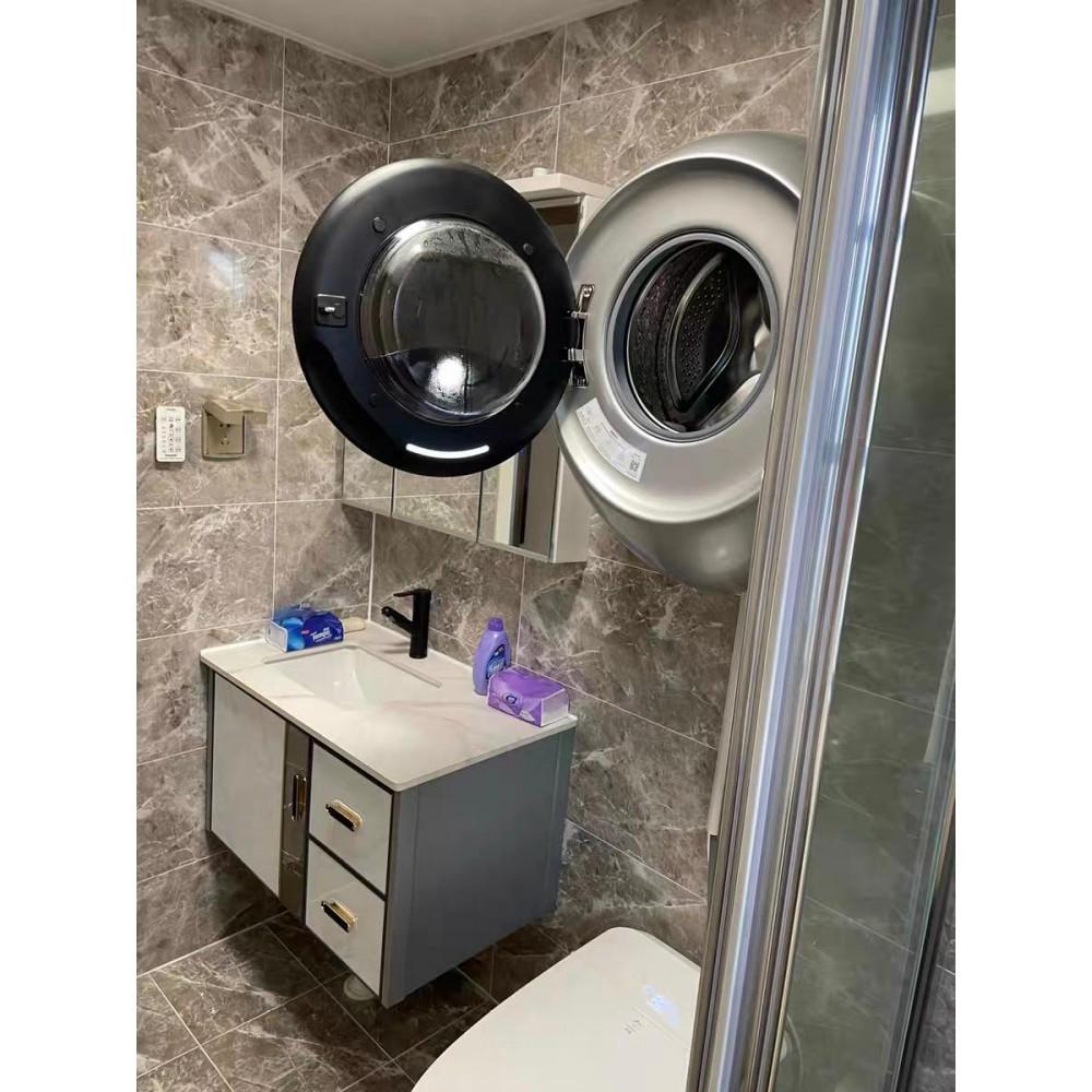 Настенная стиральная машина с сушкой и дезинфекцией Xiaomi MiniJ Wall-Mounted Sterilization Washing Machine Pro Version 28 Programs (V3-XLY) Grey