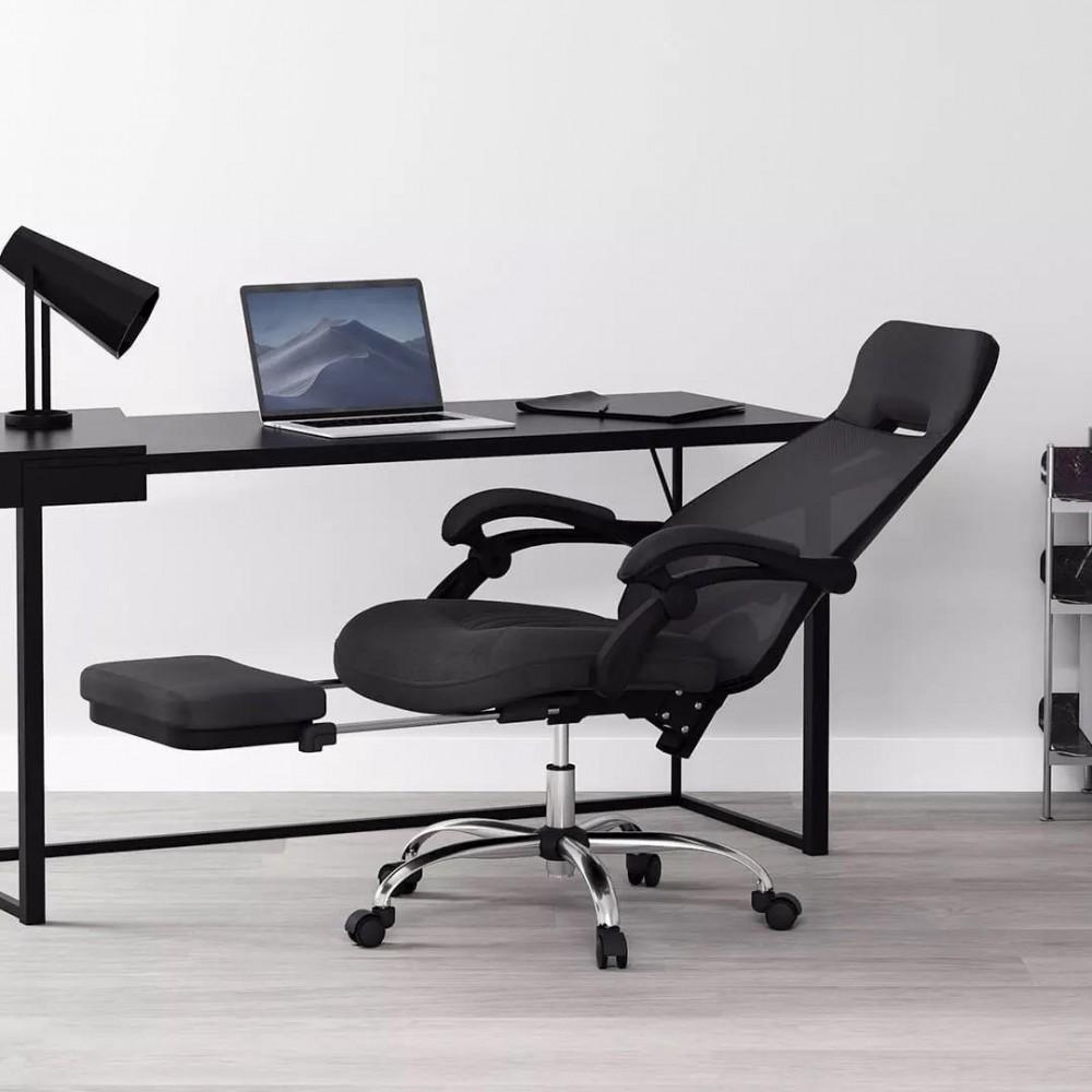 Офисное кресло с подставкой для ног Xiaomi HBADA Cloud Shield Ergonomic Office Chair