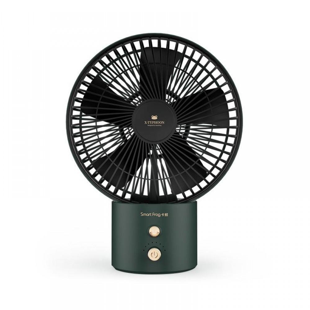Портативный настольный вентилятор Xiaomi Smart Frog Air Circulation Fan (MF100)