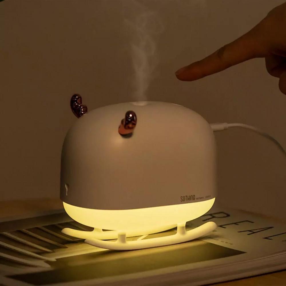 Портативный увлажнитель воздуха Xiaomi 3life Night Light Humidifier Sled Deer White (DSHJ-H-009)