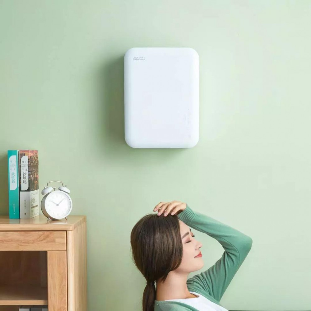 Приточный воздухоочиститель бризер Xiaomi BioFamily Bijia Wall Hanging Fresh Air Fan White (N80)