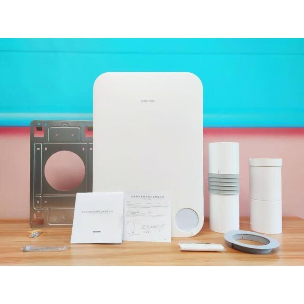 Приточный воздухоочиститель с подогревом бризер Xiaomi SmartMi Fresh Air System Wall Mounted Heat Version White (XFXTDFR02ZM)