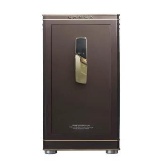 Умный сейф с датчиком отпечатка пальцев Xiaomi CRMCR Electronic safe (FDG-A1/D-65AN) Brown