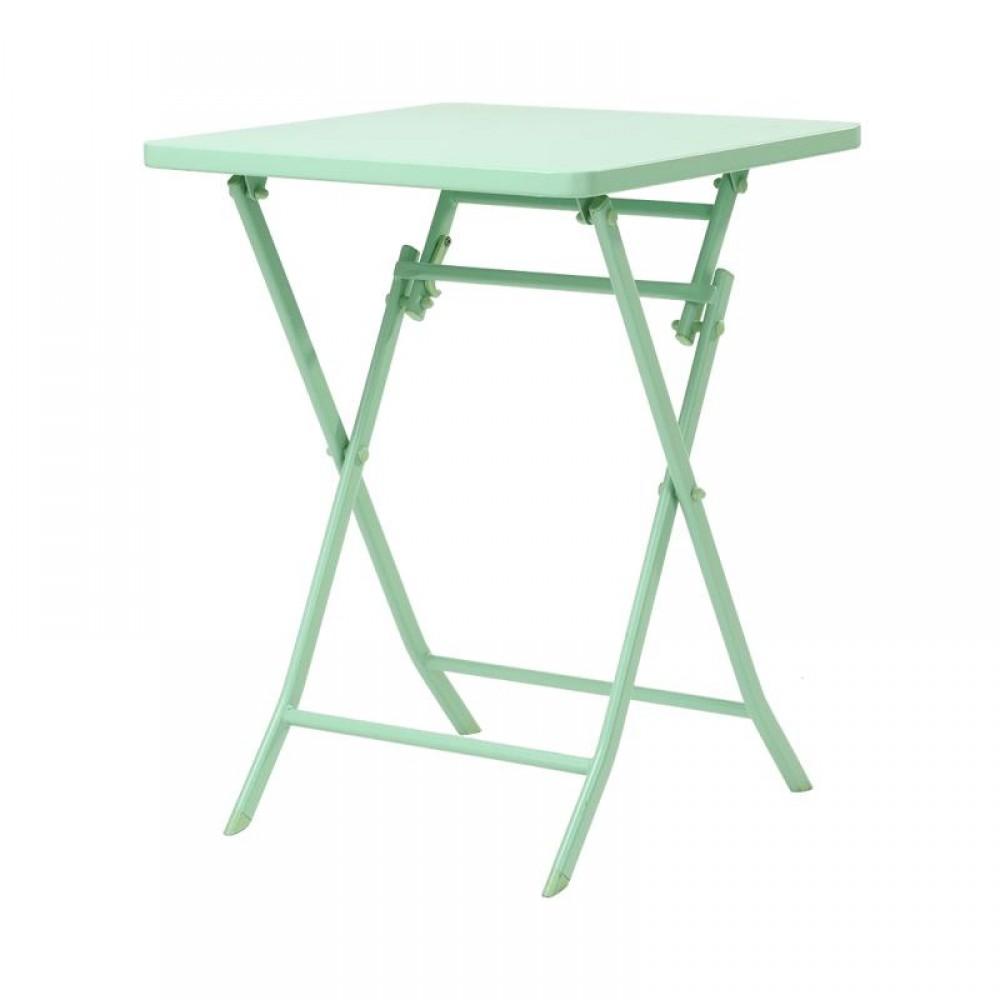 Стол обеденный складной квадратный Xiaomi MWH Colorful Folding Square Table Green