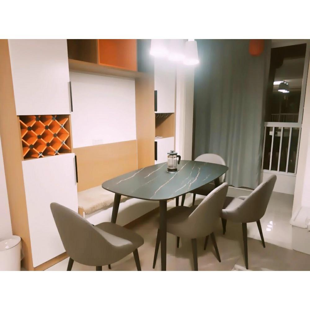 Стол обеденный Xiaomi Yang Zi Seashell Rock Plate Dining Table 1.8m
