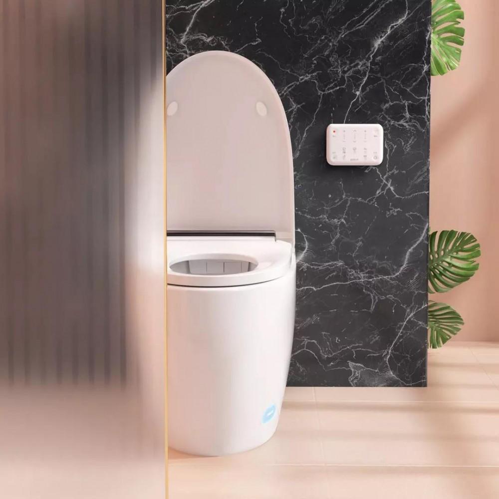 Умный унитаз Xiaomi Small Whale Wash Antibacterial Smart Toilet  White (Версия с просушкой теплым воздухом)