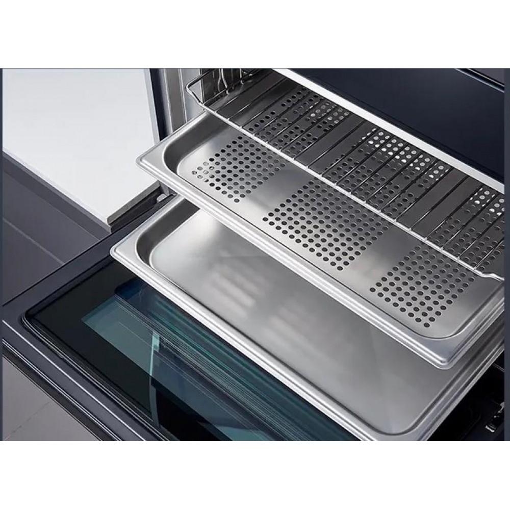 Умный встраиваемый паровой духовой шкаф Xiaomi Viomi Hot Home Embedded Steam-Bake Oven Black (VSO5601)