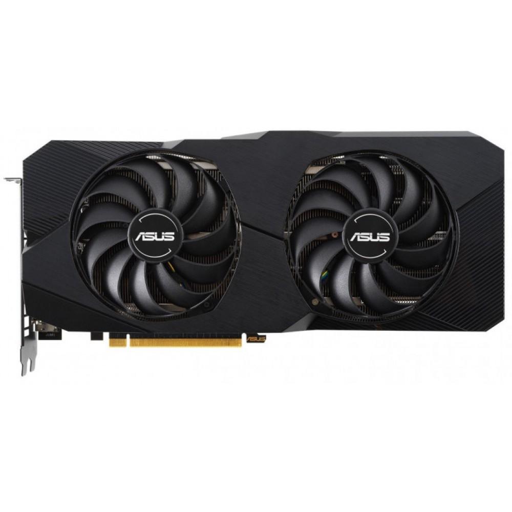 Видеокарта ASUS AMD Radeon RX 5600 XT Dual Evo Top 1130Mhz PCI-E 6144Mb 14000Mhz 192 bit 3xDP HDMI DUAL-RX5600XT-T6G-EVO