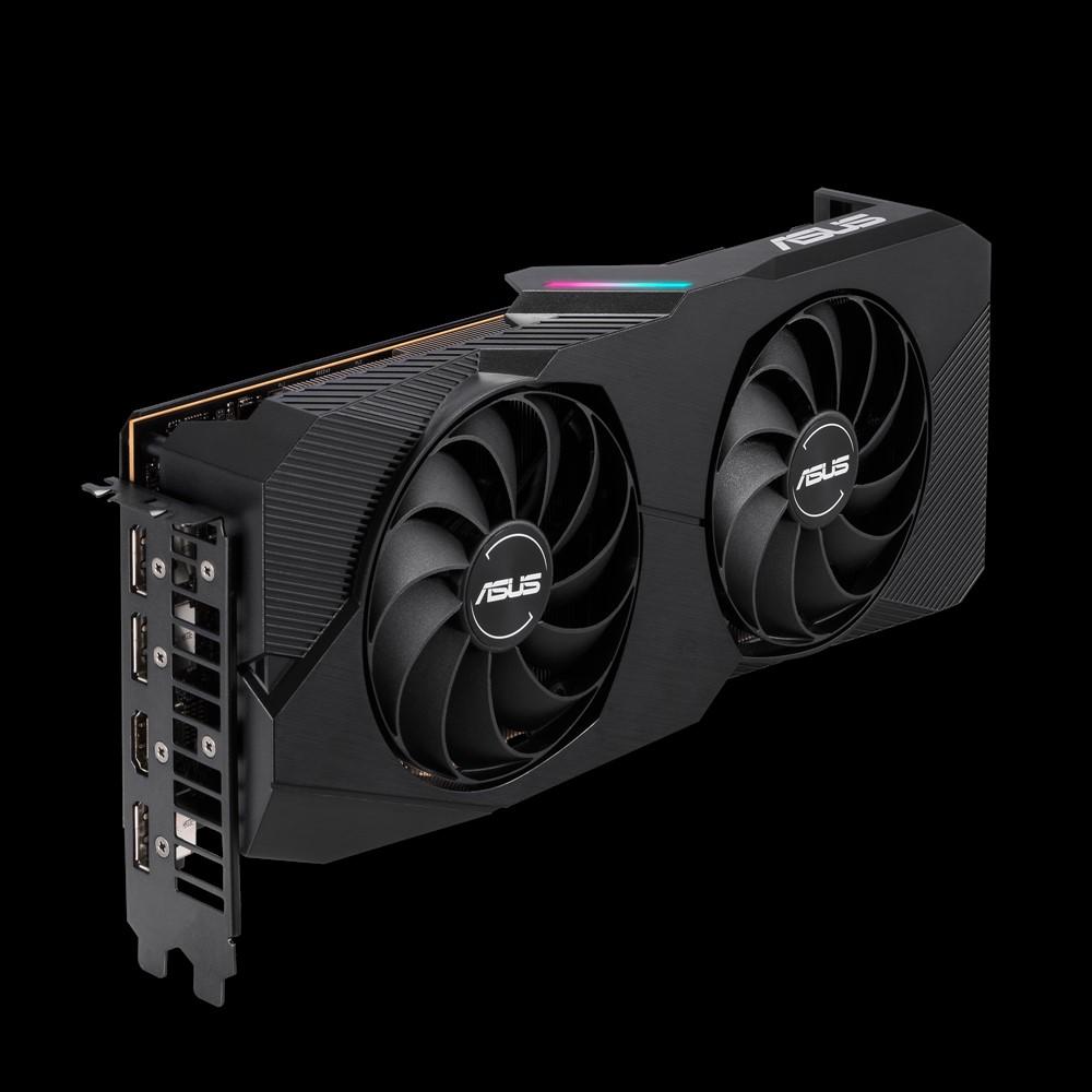 Видеокарта ASUS AMD Radeon RX 5700XT 1795Mhz PCI-E 4.0 8192Mb 14000Mhz 256 bit 3xDP HDMI DUAL-RX5700XT-O8G-EVO