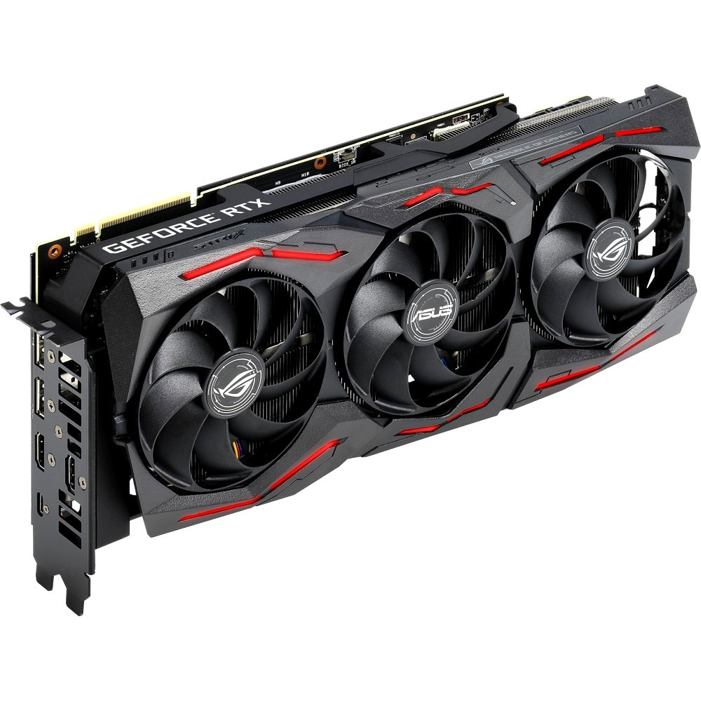 Видеокарта ASUS AMD Radeon RX 5700XT 1840Mhz PCI-E 4.0 8192Mb 14000Mhz 256 bit 3xDP HDMI ROG-STRIX-RX5700XT-O8G-GAMING