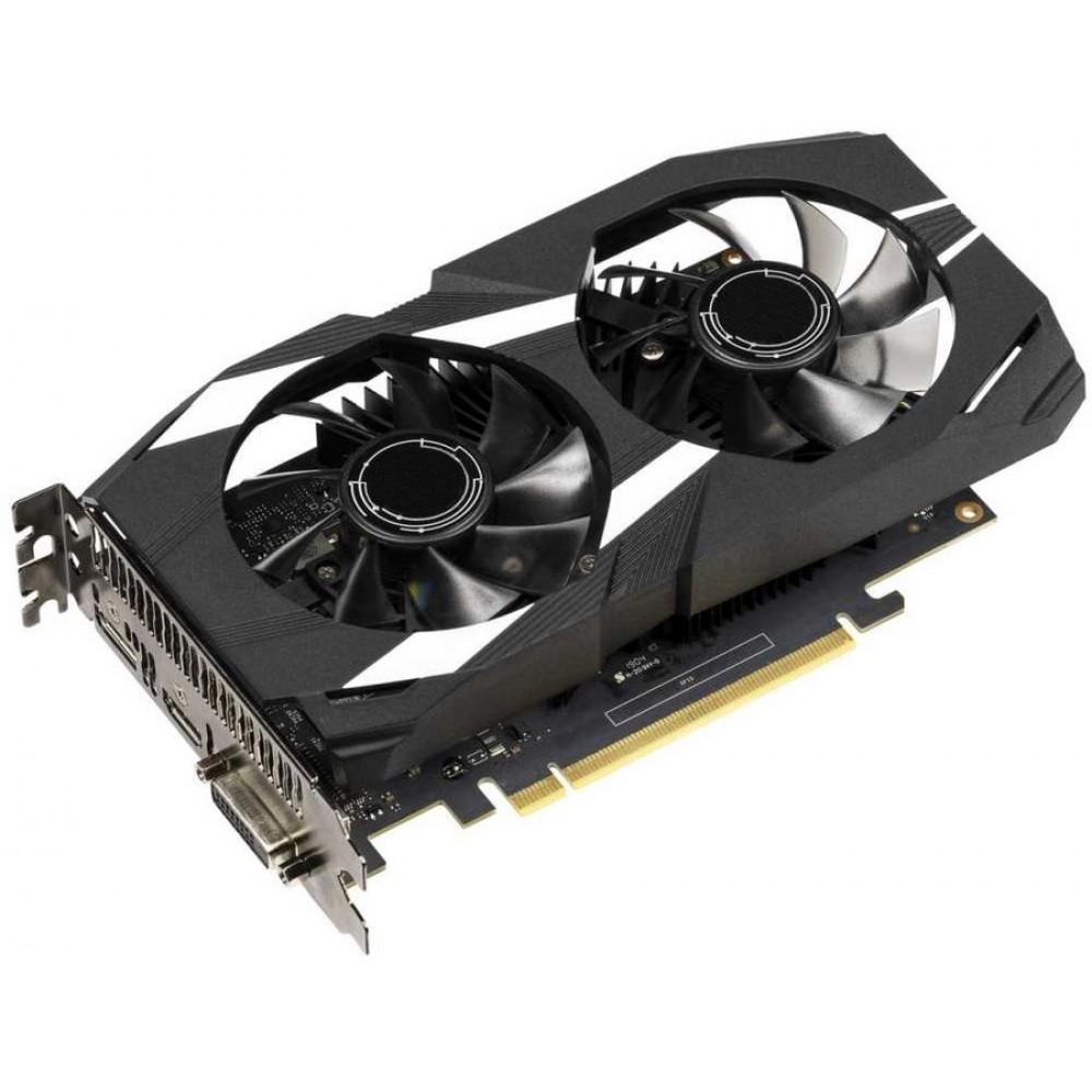 Видеокарта ASUS GeForce GTX 1650 1485Mhz PCI-E 3.0 4096Mb 8002Mhz 128 bit DP HDMI DUAL-GTX1650-O4G