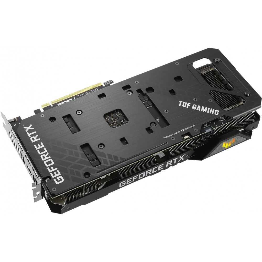 Видеокарта ASUS GeForce TUF RTX 3060 Ti 8Gb Gaming 1785Mhz PCI-E 4.0 8192Mb 14000Mhz 256 bit 3xDP 2xHDMI TUF-RTX3060TI-O8G-GAMING