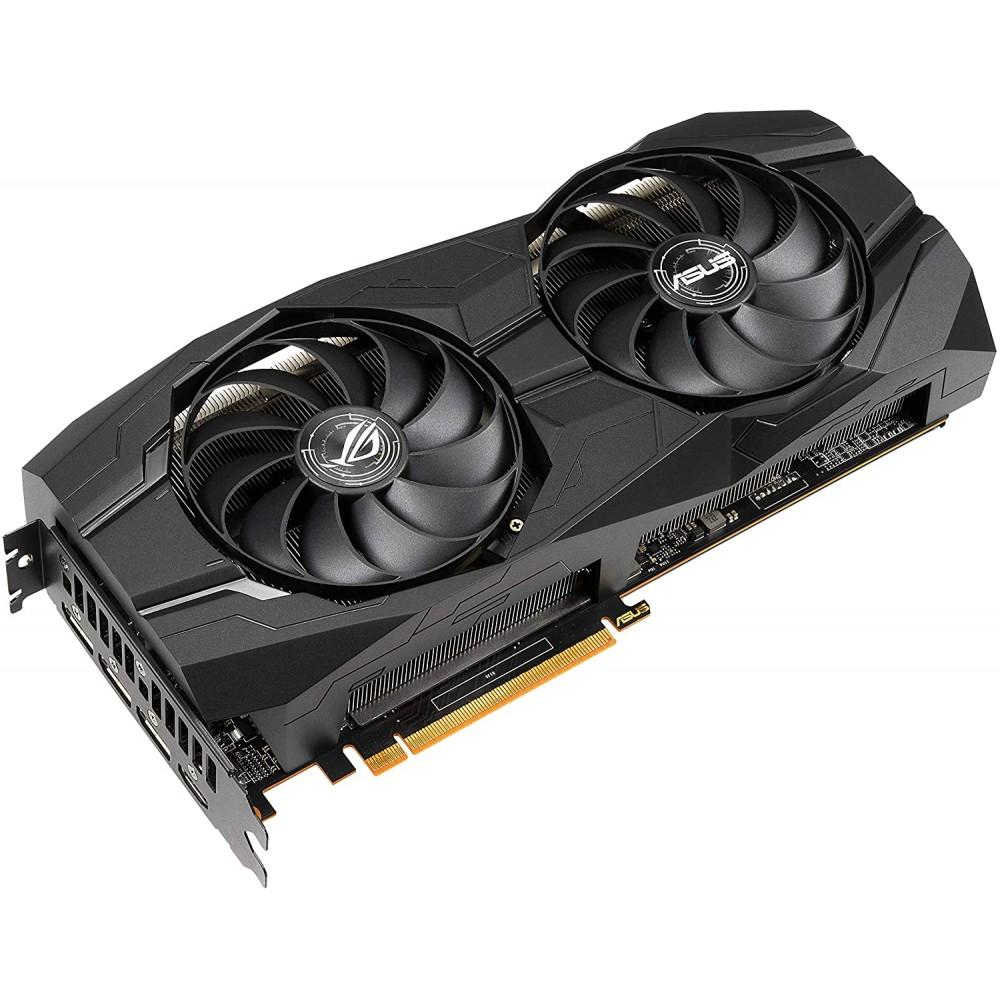 Видеокарта ASUS ROG Strix AMD Radeon RX 5500 XT OC 1647Mhz PCI-E 8192Mb 14000Mhz 128 bit 3xDP HDMI ROG-STRIX-RX5500XT-O8G-GAMING