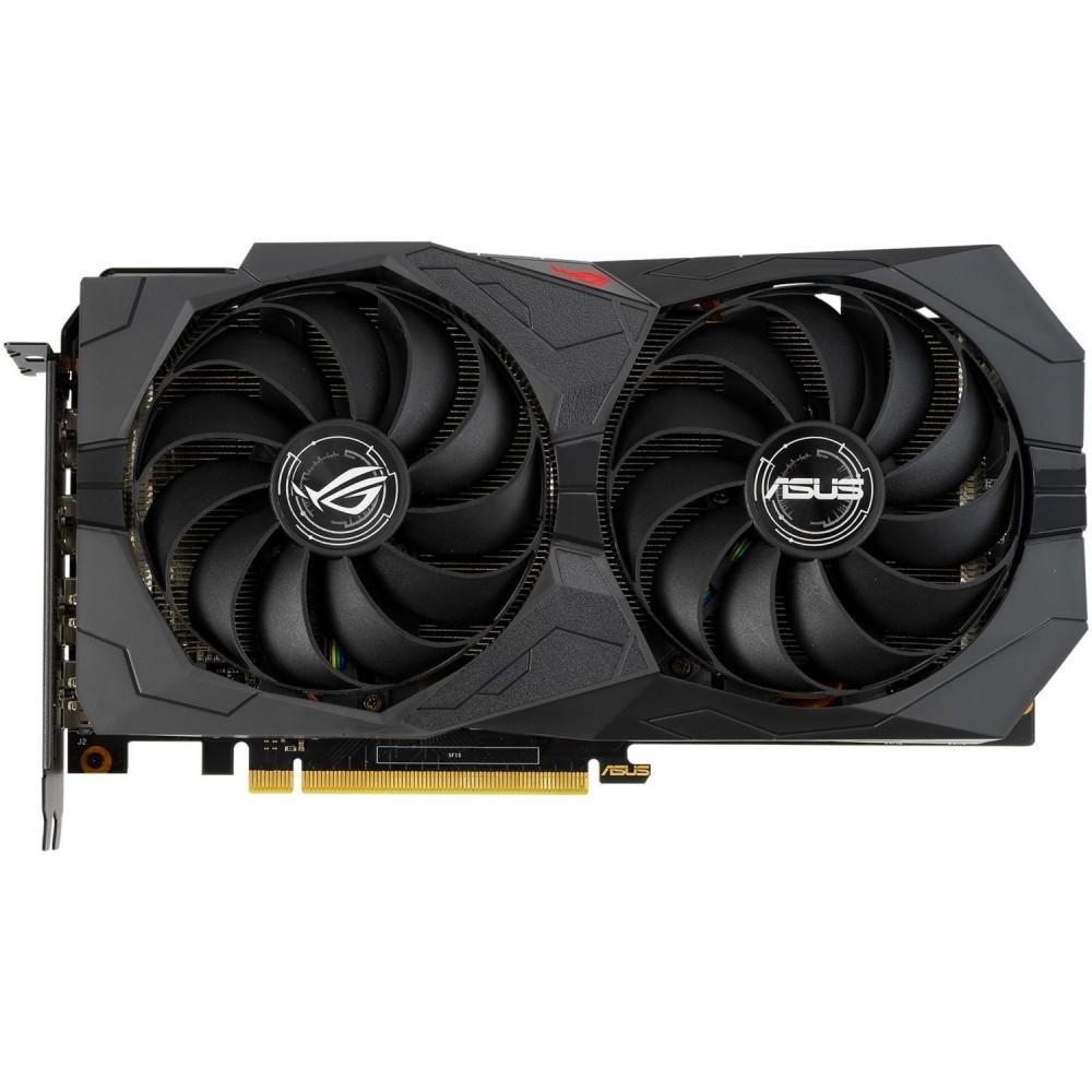 Видеокарта ASUS ROG STRIX GeForce GTX 1660 Super OC Gaming 1530Mhz PCI-E 6144Mb 14000Mhz 192bit HDMI DP ROG-STRIX-GTX1660S-O6G-GAMING