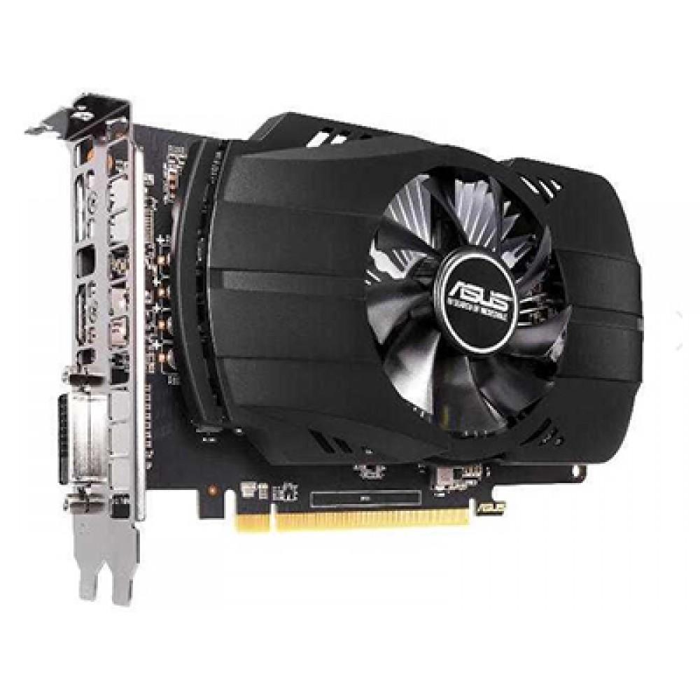 Видеокарта ASUS RT 550 1183Mhz PCI-E 3.0 4096Mb 7000Mhz DVI HDMI HDCP PH-RX550-4G-EVO