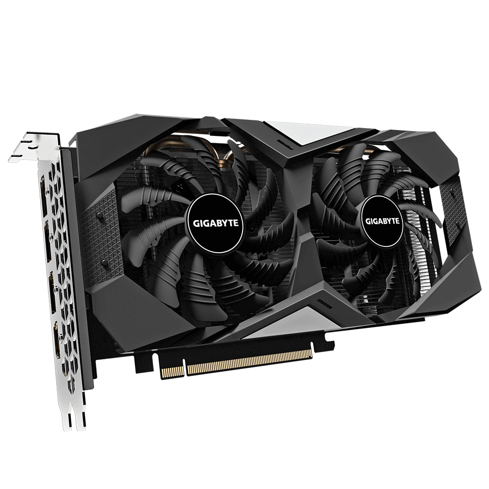 Видеокарта GigaByte AMD Radeon RX 5600 XT WindForce OC 6G 1460Mhz PCI-E 4.0 6144Mb 12000Mhz 192 bit HDMI 3xDP GV-R56XTWF2OC-6GD