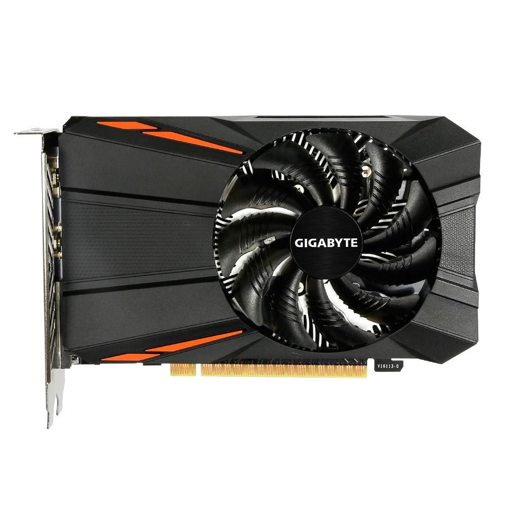 Видеокарта GigaByte GeForce GTX 1050 Ti 1290Mhz PCI-E 3.0 4096Mb 7008Mhz 128 bit DVI HDMI HDCP GV-N105TD5-4GD / GV-N105TD5-4GDV1.1