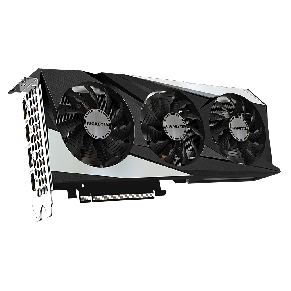 Видеокарта GigaByte GeForce RTX 3060 Ti 8Gb Gaming OC GV-N306TGAMING OC-8GD