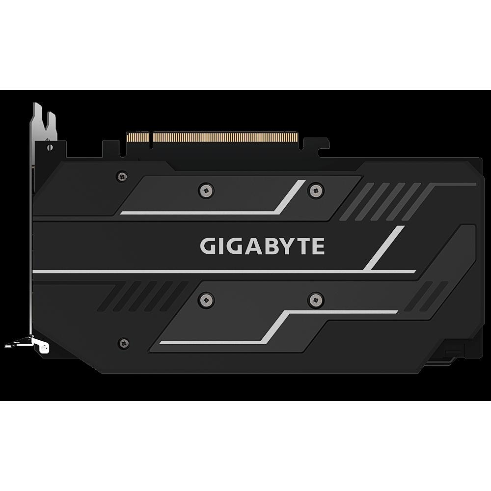 Видеокарта GigaByte Radeon RX 5500 XT 1465Mhz PCI-E 3.0 8192Mb GDDR6 14000Mhz 128bit DVI HDMI DP HDCP GV-R55XTOC-8GD / V2.0