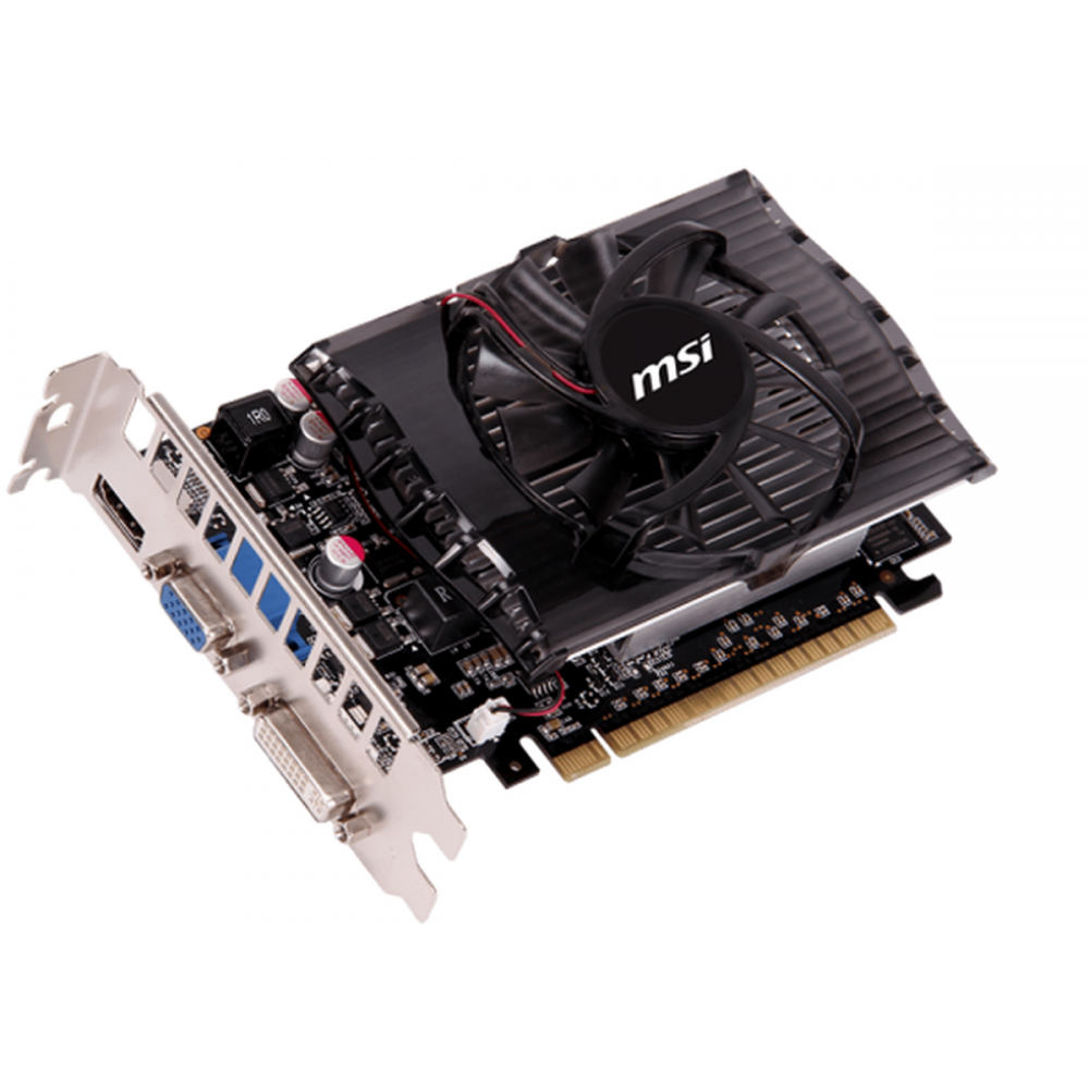 Видеокарта MSI GeForce GT 730 750Mhz PCI-E 2.0 4096Mb 1000Mhz 128 bit DVI HDMI HDCP N730-4GD3