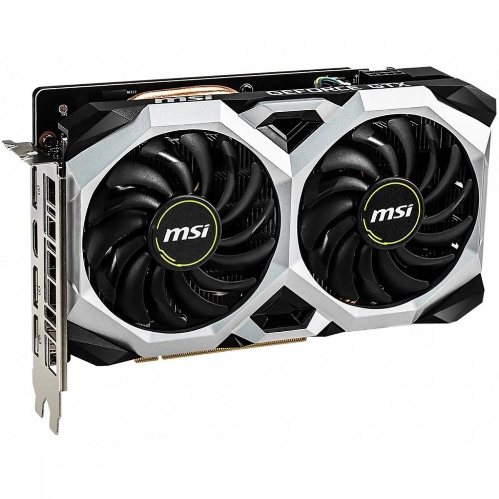 Видеокарта MSI GeForce GTX 1660 1830Mhz PCI-E 3.0 6144Mb 8000Mhz 192 bit 3xDP HDMI HDCP GTX 1660 VENTUS XS 6G OC / GTX 1660 VENTUS XS 6G OCV1