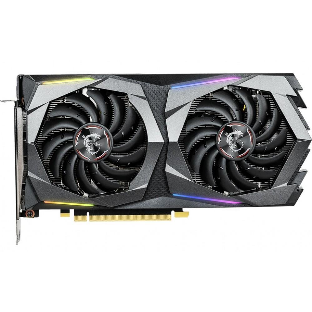 Видеокарта MSI GeForce GTX 1660 Ti 1500Mhz PCI-E 3.0 6144Mb 12000Mhz 192 bit 3xDP HDMI GTX 1660 Ti Gaming X 6G