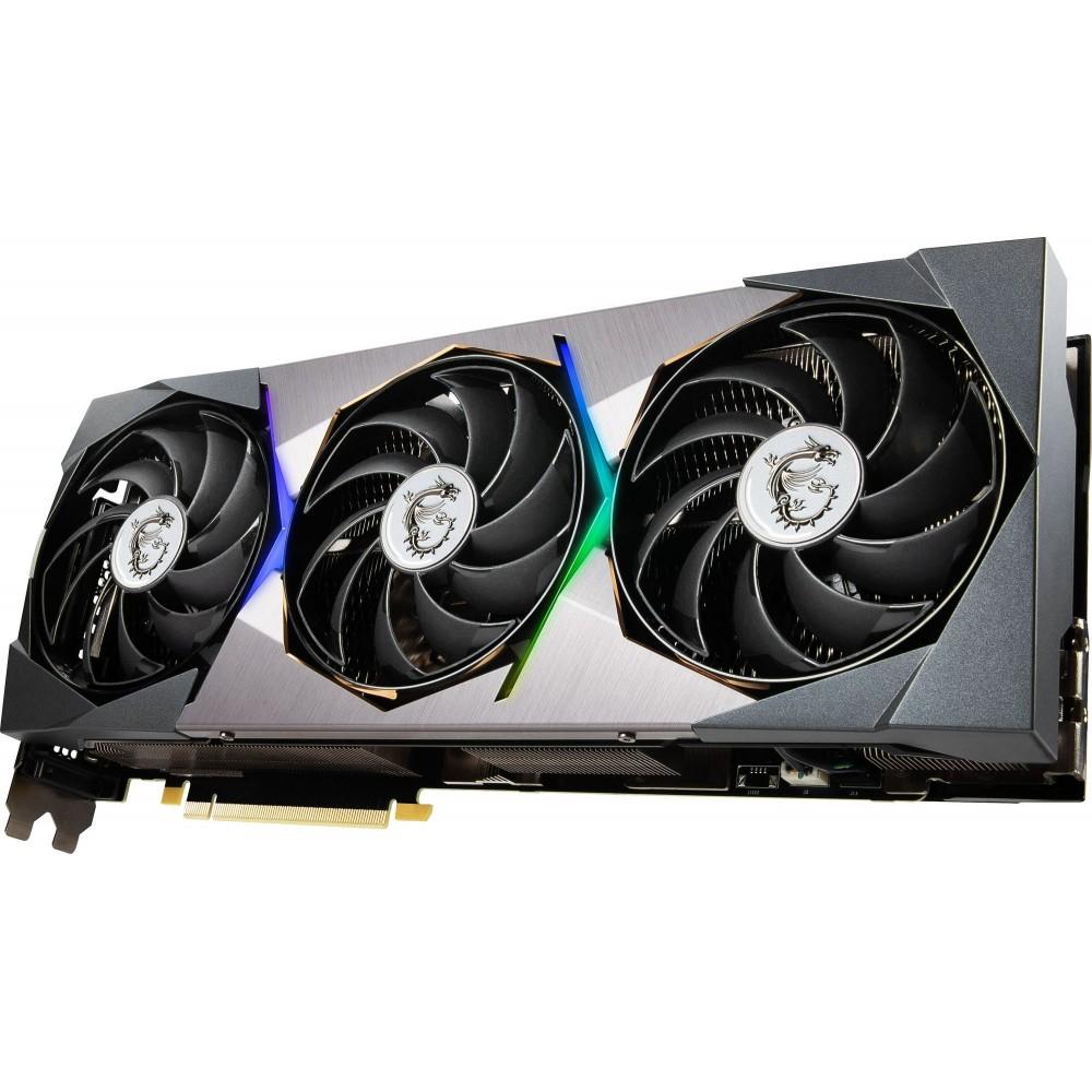 Видеокарта MSI GeForce RTX 3090 1815Mhz PCI-E 4.0 24576Mb 19500Mhz 384 bit 3xDP HDMI RTX 3090 SUPRIM X 24G