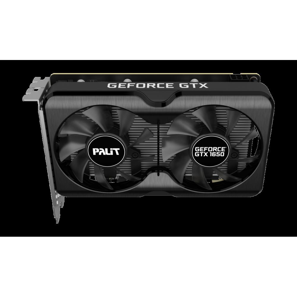 Видеокарта Palit GeForce GTX 1650 PA-GTX1650 GP OC 1410MHz PCI-E 3.0 4096Mb 12000MHz HDMI 2xDisplayPort NE61650S1BG1-1175A