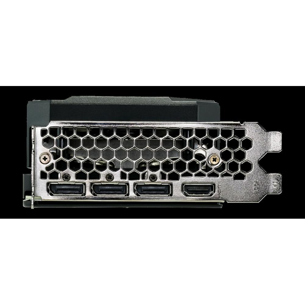 Видеокарта Palit GeForce RTX 3060 Ti Gaming Pro OC 8G 1410Mhz PCI-E 4.0 8192Mb 14000Mhz 256 bit HDMI 3xDP HDCP NE6306TT19P2-1041A