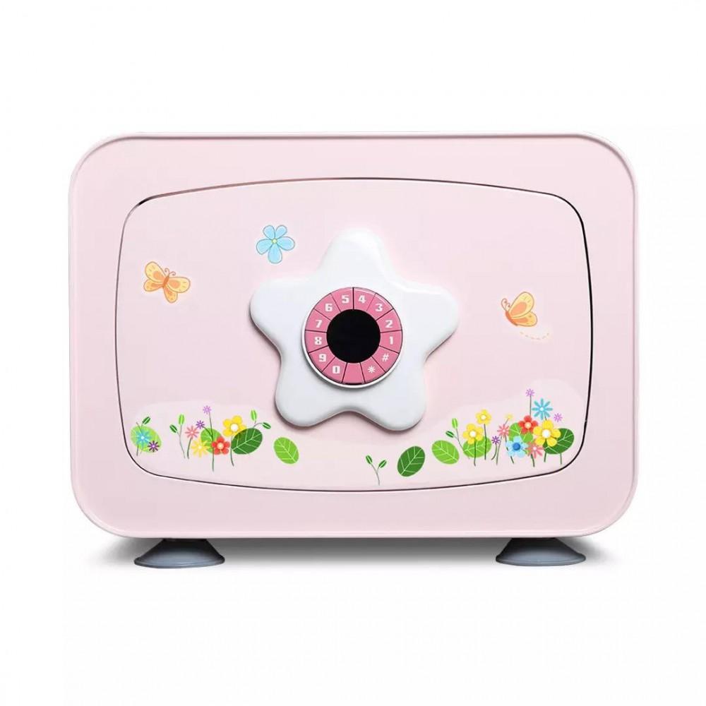 Детский сейф Xiaomi CRMCR Card Child Safe Deposit Box (Pink)