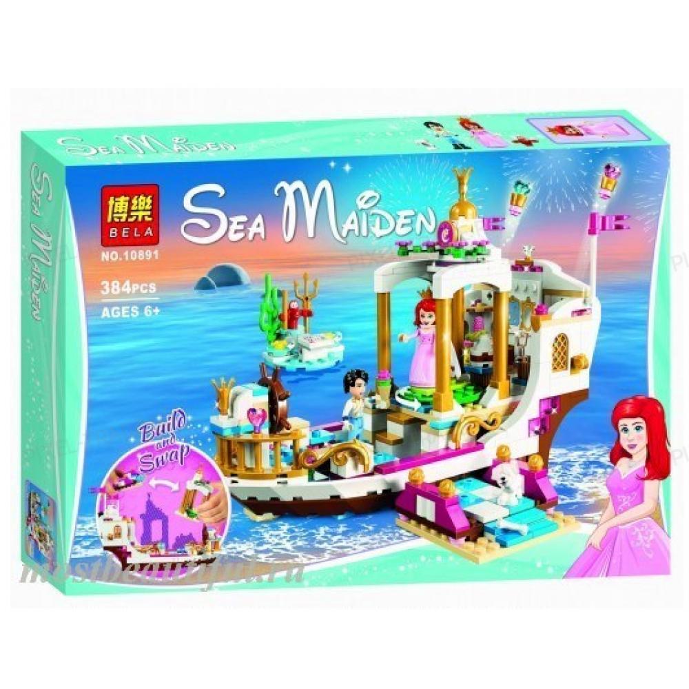 """Конструктор Princess """"Королевский корабль - Ариэль"""" BELA 10891 - 384 дет."""