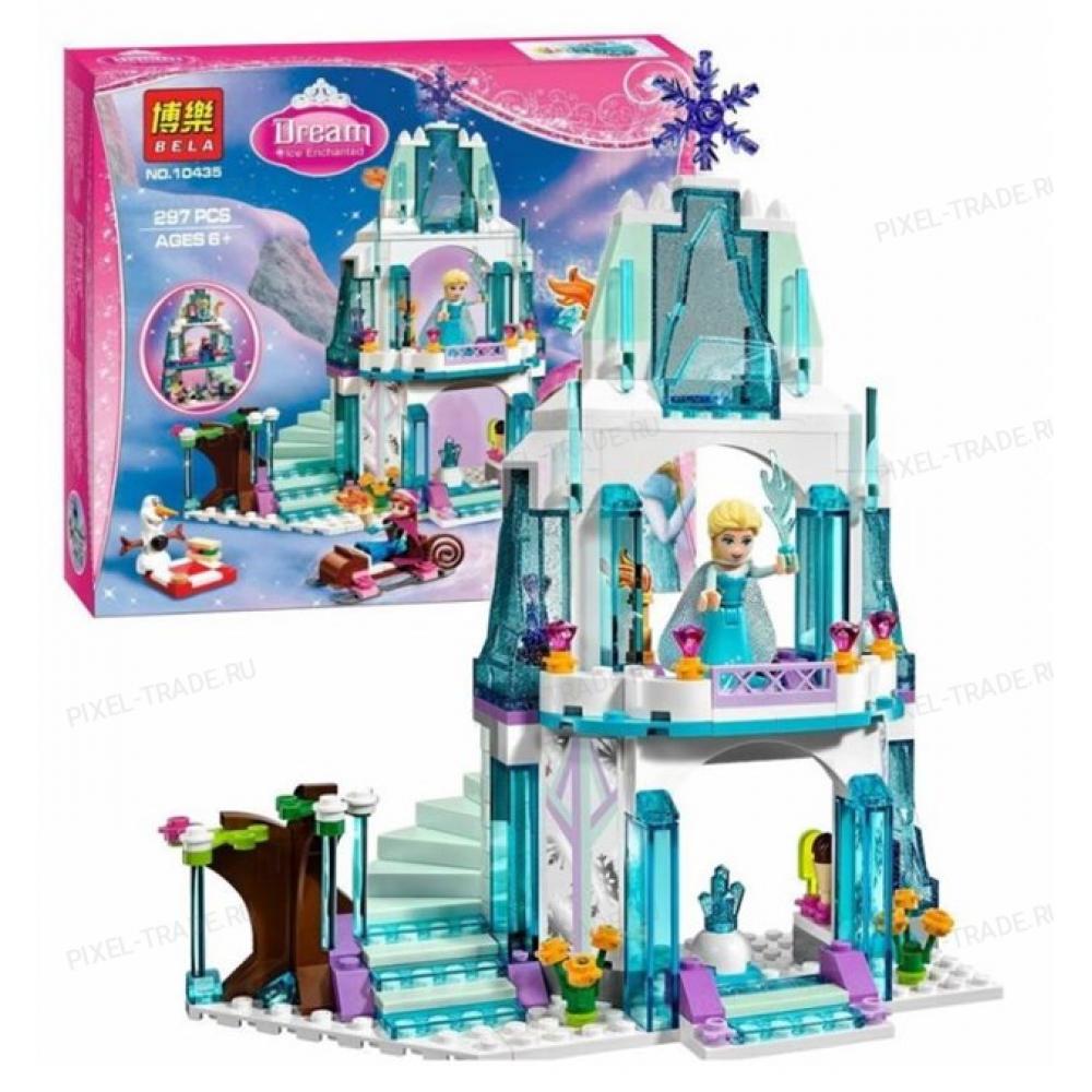"""Конструктор Princess """"Ледяной замок Эльзы"""" BELA 10435 - 297 дет."""