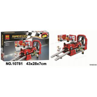 """Конструктор """"Ferrari FXX K и Центр разработки и проектирования """" BELA 10781 - 526 дет."""