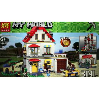 "Конструктор My World ""Дом на побережье"" LELE 33077 - 738 дет."