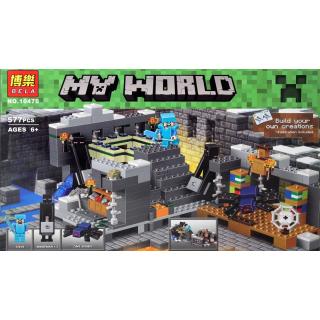 """Конструктор My World """"Портал в Край"""" BELA 10470 / 577 дет."""