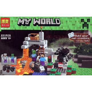 Конструктор My World «Пещера» BELA 10174 / 251 дет.