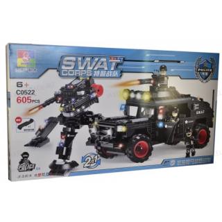 Конструктор Swat Сorps C0522 - 605 дет.