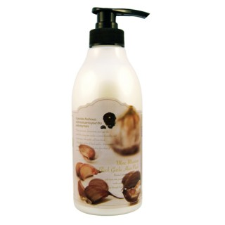3W CLINIC ЧЕРНЫЙ ЧЕСНОК Шампунь для волос More Moisture Black Garlic Shampoo, 500 мл