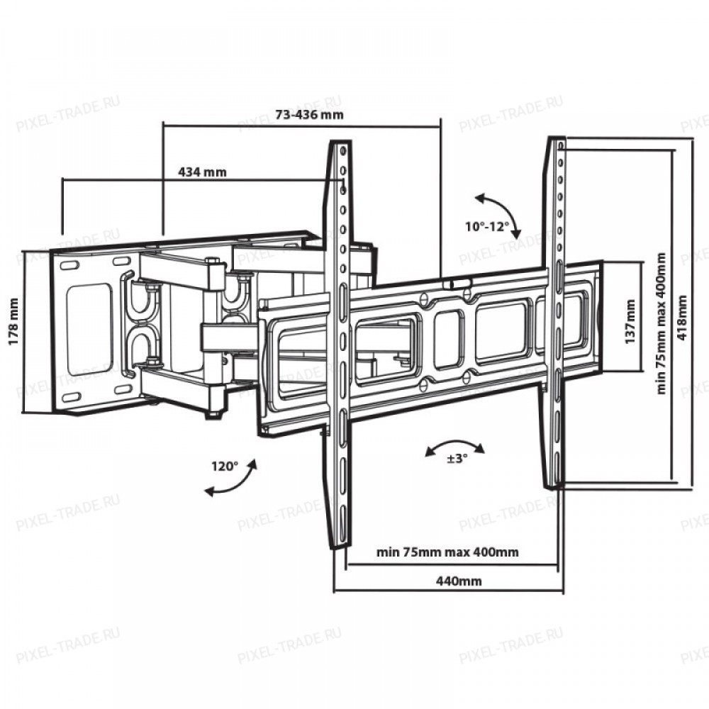 Кронштейн Tuarex Olimp-606