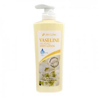 3W CLINIC Лосьон для тела ВАЗЕЛИН Relaxing Body lotion, 550 мл