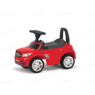 Толокар машинка каталка Benz Музыкальная Красная
