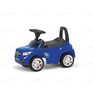 Толокар машинка каталка Benz Музыкальная Синяя