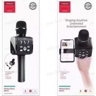 Портативный караоке микрофон со встроенным держателем Joyroom JR-MC3 (Bluetooth, MP3, AUX, KTV)
