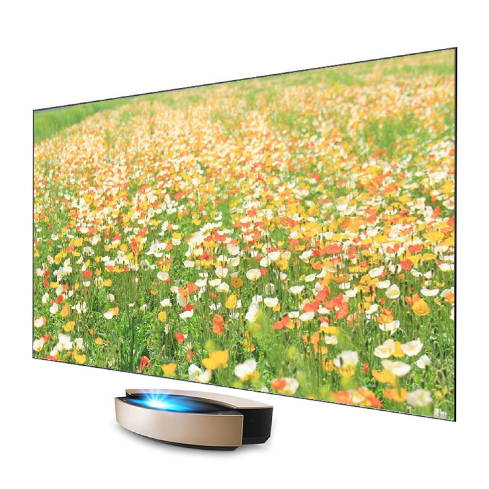 ALR экран  4K UST PET Crystal на раме для проектора 90""